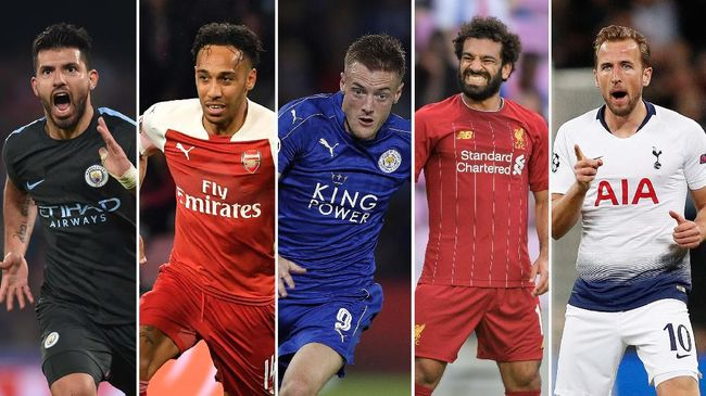 Sedikitnya ada lima wajah lama yang akan beradu tajam merebut gelar top skor Premier League 2019/2020.