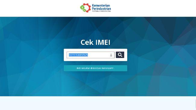 Penggunaan nomor identitas internasional atau IMEI pada ponsel di Indonesia dipastikan mulai berlaku pada 18 April 2020.