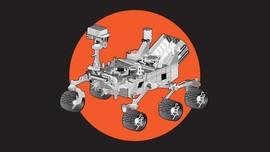 INFOGRAFIS: Fakta Rover Curiosity, Robot Penjelajah Mars