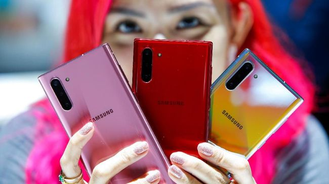 Samsung mengklaim sebagai penguasa pangsa pasar ponsel pintar kelas flagship di Indonesia pada kuartal kedua 2019.