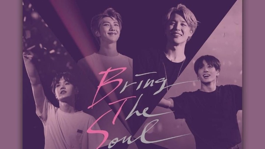 'Bring the Soul: The Movie' BTS Pecahkan Rekor Terbaru