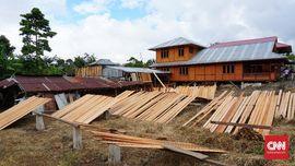 Cerita Rumah Panggung Woloan Kebanggaan Tomohon
