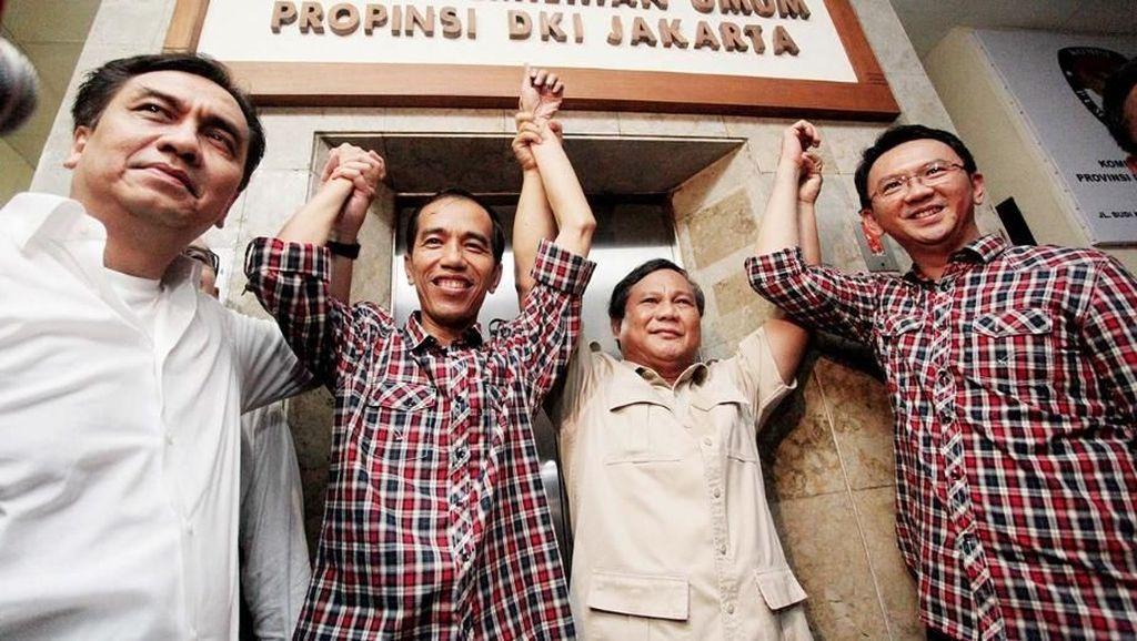 Yang Mentereng di Survei Indo Barometer: Dari Ahok hingga Prabowo