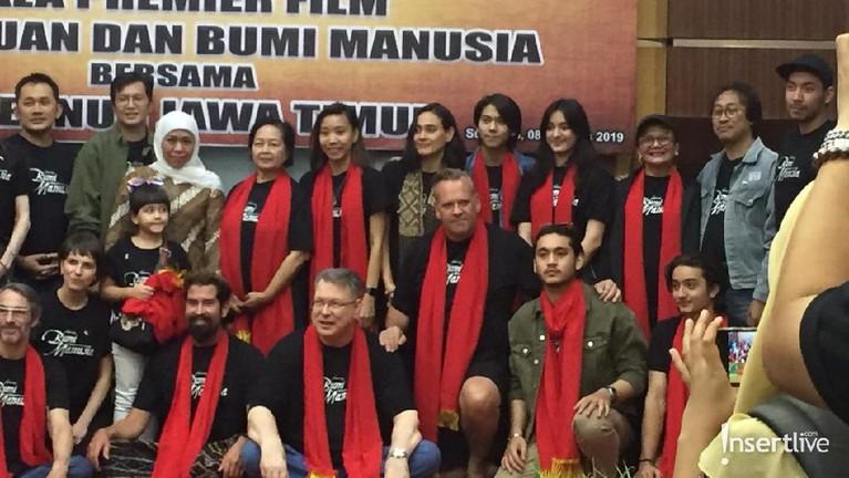 Acara ramah tamahdengan Gubernur Jatim. berlokasidiGedung Grahadi, Surabaya.