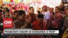 VIDEO: Prabowo Hadir di Kongres V PDIP