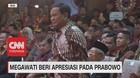 VIDEO: Megawati Beri Apresiasi Pada Prabowo