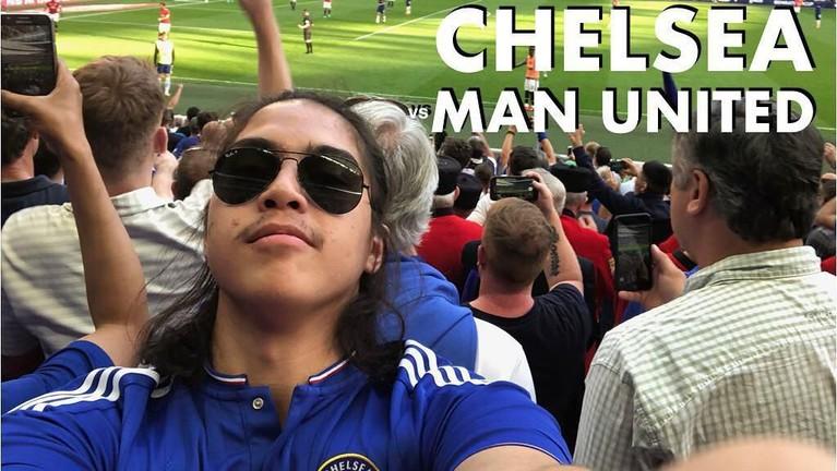 El Rumi juga jadi salah satu artis Indonesia yang jadi penggemar berat klub Liga Inggris, Chelsea.
