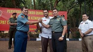 Kolaborasi ACT dan TNI Tebar Kurban Iduladha