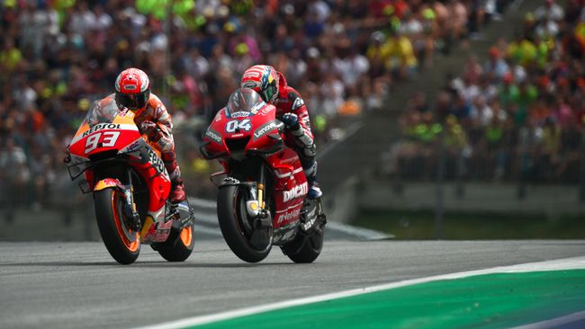 MotoGP Valencia 2019, Minggu (17/11), jadi seri penentuan gelar juara dunia tim terbaik MotoGP 2019 antara Ducati vs Repsol Honda.