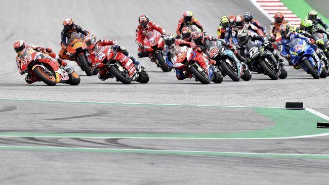 Jadwal siaran langsung dan live streaming MotoGP Aragon 2019 bisa disaksikan melalui Trans7 dan CNNIndonesia.com pada Minggu (22/9).