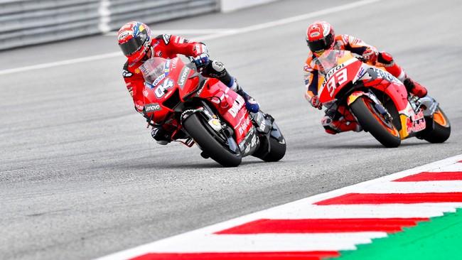 Drama terjadi di MotoGP Austria 2019 ketika Andrea Dovizioso mengalahkan Marc Marquez di tikungan terakhir Sirkuit Red Bull Ring.