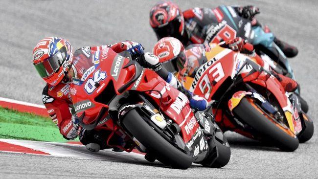 Jadwal siaran langsung dan live streaming MotoGP Thailand 2019 bisa disaksikan melalui Trans7 dan CNNIndonesia.com pada Minggu (6/10).