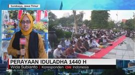 VIDEO: Perayaan Iduladha di Bandung dan Surabaya