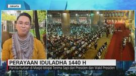 VIDEO: Perayaan Iduladha di Masjid Istiqlal