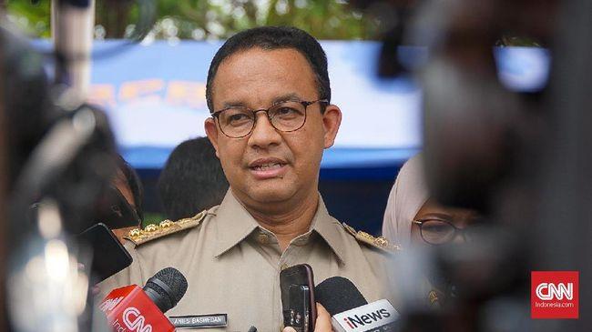 Gubernur DKI Anies Baswedan mempertanyakan motivasi Depok dan Bekasi gabung dengan Jakarta,