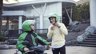 Grab Latih Ratusan Mitra Jadi Duta Wisata GrabBike Yogyakarta