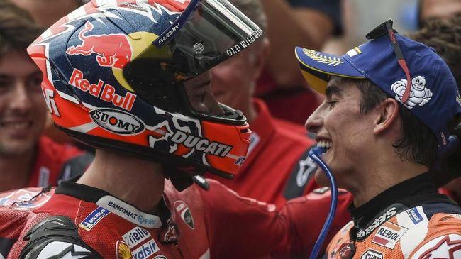 Pebalap Ducati, Andrea Dovizioso masih menaruh harapan bisa jadi juara dunia MotoGP musim ini meski Marc Marquez masih unggul 58 poin.
