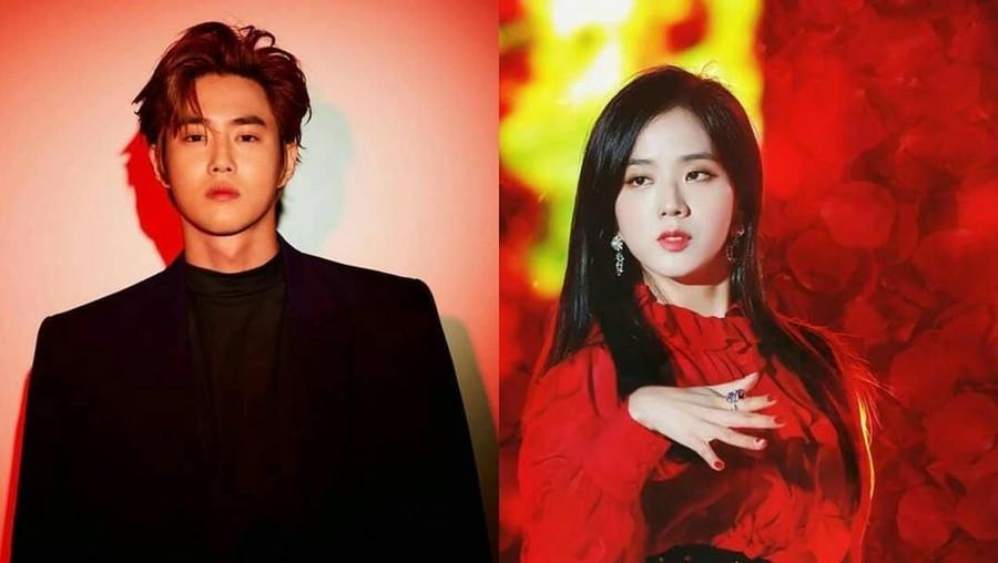 Jisoo BLACKPINK dan Suho EXO Pacaran?
