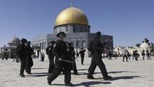 Yahudi Radikal Terobos Masjid Al-Aqsa Rayakan Festival Purim