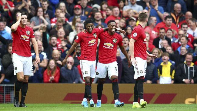 Manchester United menang besar 4-0 atas Chelsea di pekan pertama Liga Inggris 2019/2020 di Stadion Old Trafford, Minggu (11/8) malam WIB.
