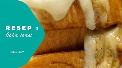 Resep Boba Toast