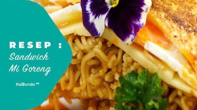 Resep Sandwich Mi Goreng