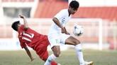Timnas Indonesia U-18 bermain imbang 1-1 melawan timnas Myanmar pada laga kelima Grup A Piala AFF U-18 di Stadion Thong Nhat, Rabu (14/8).