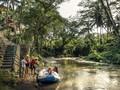 Hindari Macet, Hotel Mewah di Ubud Jemput Tamu Pakai Perahu