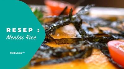 Resep Mentai Rice
