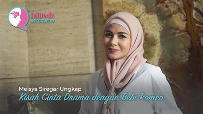 Meisya Siregar Ungkap Kisah Cinta Drama dengan Bebi Romeo