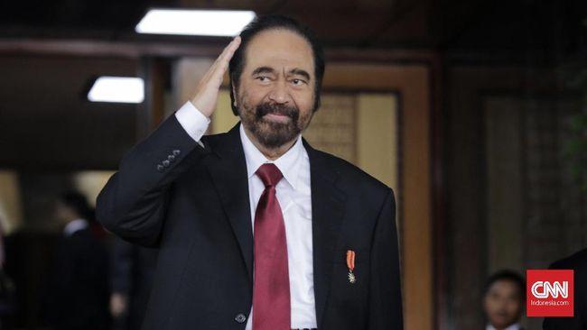 Ketua Umum Nasdem Surya Paloh menyebut Kongres II partai hanya untuk kalangan internal, Anies diundang sebab posisinya Gubernur DKI Jakarta.