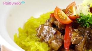 Resep Mi Glosor Black Pepper, Olahan Lezat dari Daging Sapi