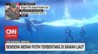 VIDEO: Bendera Merah Putih Terbentang di Bawah Laut