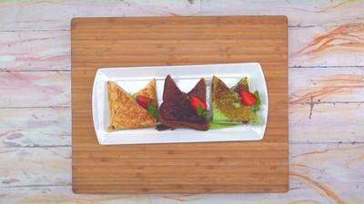 Resep Hokkaido Cheese Toast 3 Rasa, Bekal Lezat untuk Si Kecil