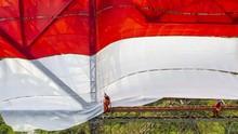 Pembakar Bendera Merah Putih di Lampung Ditetapkan Tersangka