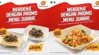 <p>Seperti tahun-tahun sebelumnya, Bakmi GM mengeluarkan promo andalannya saat perayaan HUT RI. Bunda dan keluarga bisa mendapatkan menu makanan seharga Rp17.845 saja. (Foto: Istimewa)</p>