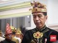Kenakan Pakaian Adat Bali, Jokowi Pimpin Upacara HUT RI