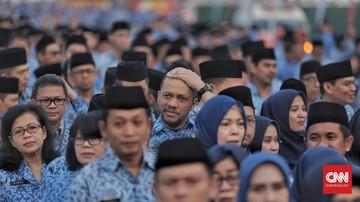 Presiden Jokowi resmi menerbitkan Peraturan Pemerintah (PP) Nomor 44 Tahun 2020 tentang Pemberian Gaji ke-13.