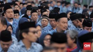 Absen Hari Pertama Kerja, Puluhan ASN Bandung Kena Sanksi