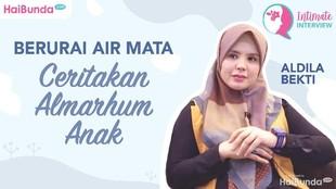 Simak Intimate Interview Tangis Aldila Bekti Teringat Almarhum Anak