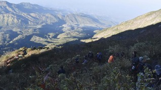 Jalur Pendakian Gunung Lawu via Cemoro Sewu Dibuka