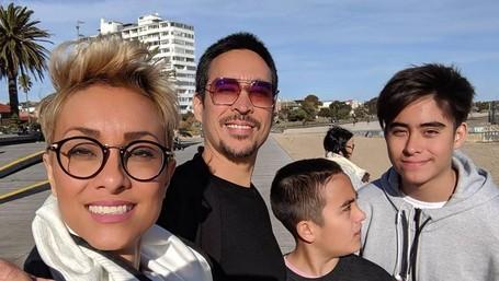 6 Momen Hangat Eks VJ MTV Jamie Aditya Bersama Istri dan Anak