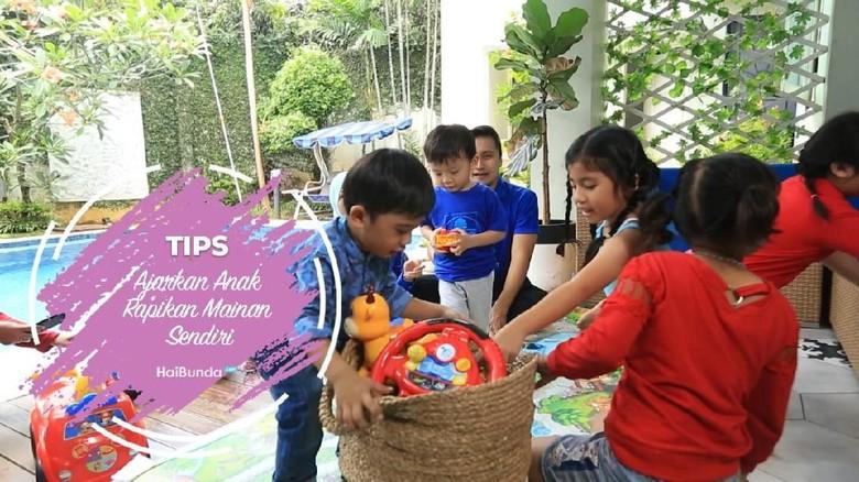 Tips Ajarkan Anak Rapikan Mainan Sendiri