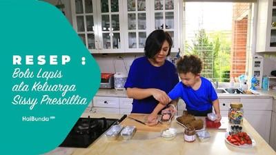 Resep Bolu Lapis ala Keluarga Sissy Prescillia