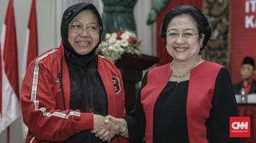 PSI Surabaya menghembuskan isu soal pencalonan Tri Rismaharini alias Risma sebagai Mensos menggantikan Juliari Batubara yang ditangkap KPK.