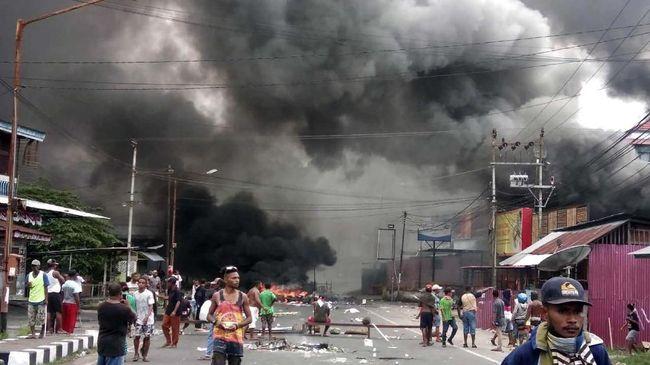 Polisi Tetapkan 68 Tersangka Kerusuhan di Papua