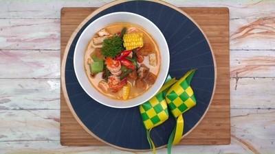 Resep Sayur Lodeh Udang, Nikmat Disantap Bersama Nasi Hangat