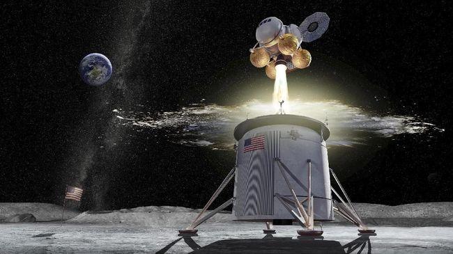 NASA Pilih Alabama Jadi 'Markas' Pengembangan Misi ke Bulan