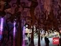 FOTO: Seni Ramah Lingkungan di Terowongan di Jakarta