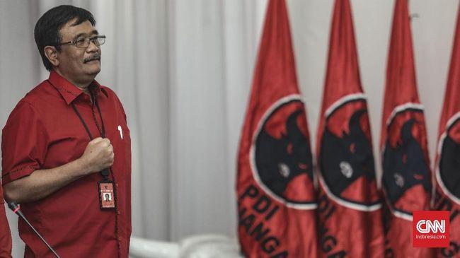 Ketua PDIP Djarot Saiful menyebut lebih mudah berkoalisi dengan partai-partai pendukung Jokowi-Ma'ruf dalam Pilkada Serentak 2020 ketimbang dengan PKS-Demokrat.